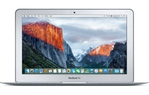 Sell My Apple MacBook Air Core i7 2.2 13 Early 2015 8GB 512SSD for cash