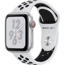 Sell My Apple Watch Nike Plus Series 4 GPS 40mm Silver Aluminium for cash