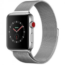 Sell My Apple Watch Series 3 42mm Stainless Steel Case GPS with Cellular for cash
