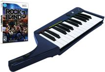 Sell My Rock Band 3 Wireless Pro Keyboard and Game Bundle Nintendo Wii G for cash