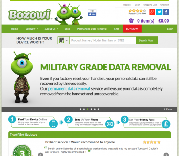 Visit Bozowi to recycle your  mobile or tablets for cash with sell any mobile