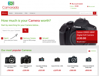 Sell your mobile or gadget to Camorada and compare prices at sellanymobile.co.uk