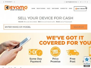 Visit Evamo to recycle your  mobile or tablets for cash with sell any mobile