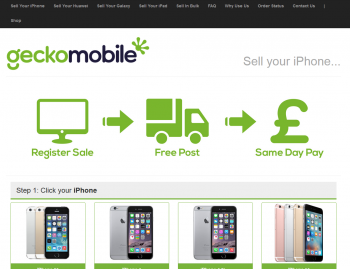 Sell your mobile or gadget to Gecko Mobile and compare prices at sellanymobile.co.uk