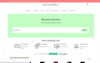 Visit Grade Mobile to recycle your  mobile or tablets for cash with sell any mobile