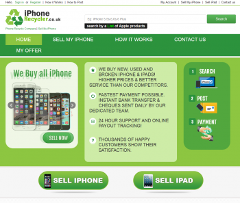 Visit iPhone Recycler to recycle your  mobile or tablets for cash with sell any mobile