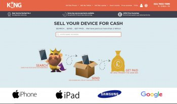 Sell your mobile or gadget to KingBuyback and compare prices at sellanymobile.co.uk