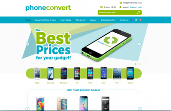 Visit Phone Convert to recycle your  mobile or tablets for cash with sell any mobile