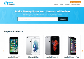 Visit Quick Mobile Fix to recycle your  mobile or tablets for cash with sell any mobile