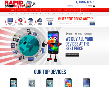 Sell your mobile or gadget to Rapid Phone Buyer and compare prices at sellanymobile.co.uk