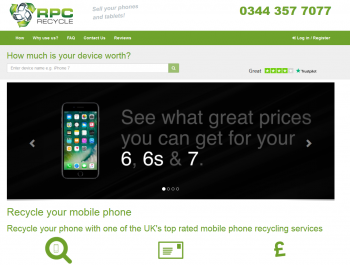 Visit RPC Recycle to recycle your  mobile or tablets for cash with sell any mobile