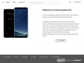 Sell your mobile or gadget to Samsung Recycle and compare prices at sellanymobile.co.uk