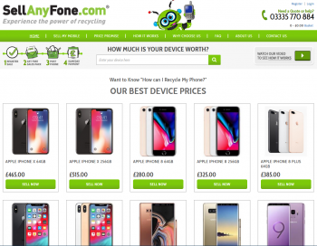 Visit Sell Any Fone to recycle your  mobile or tablets for cash with sell any mobile