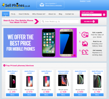 Sell your mobile or gadget to Sell Phones and compare prices at sellanymobile.co.uk